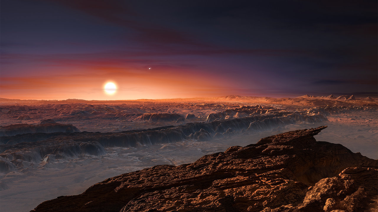 Proxima b Might Be a Habitable 'Ocean Planet'