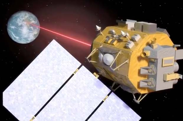 Zap! NASA Betting on Space Lasers for Superfast Calls from Mars