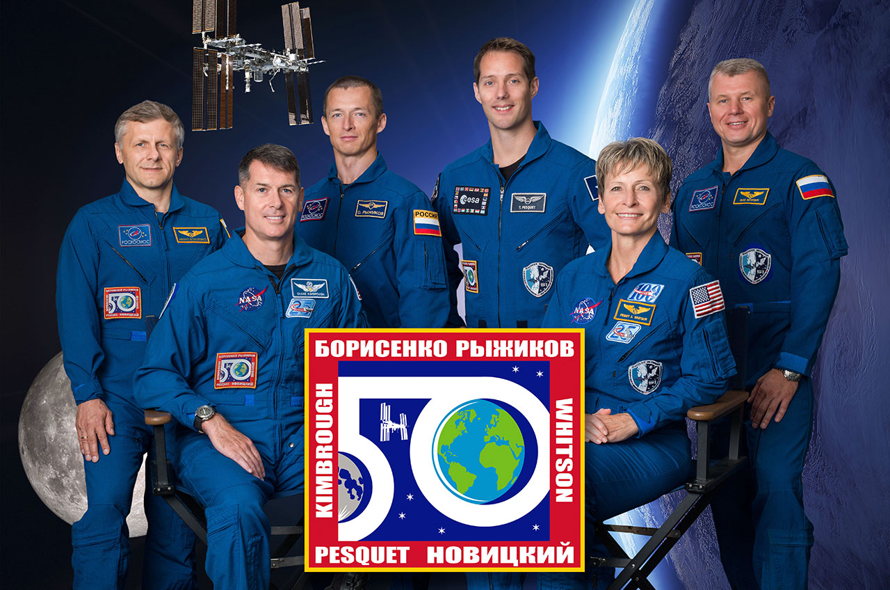 Space station expedition 50a