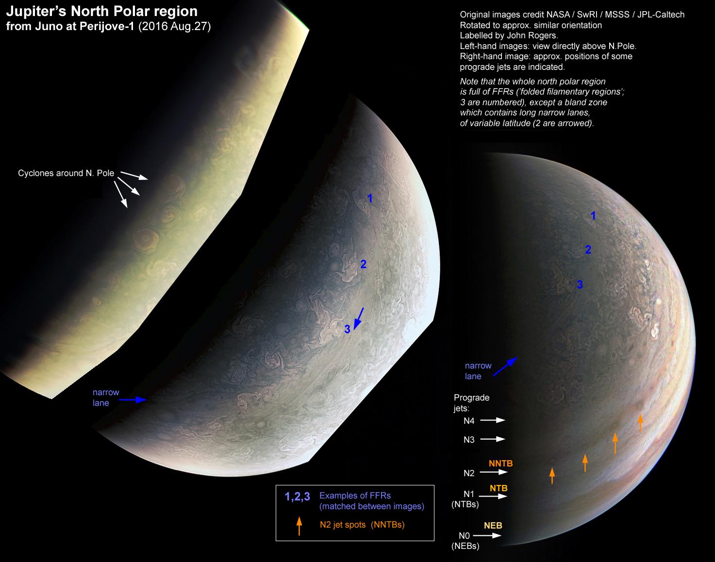 Jupiter landscapes
