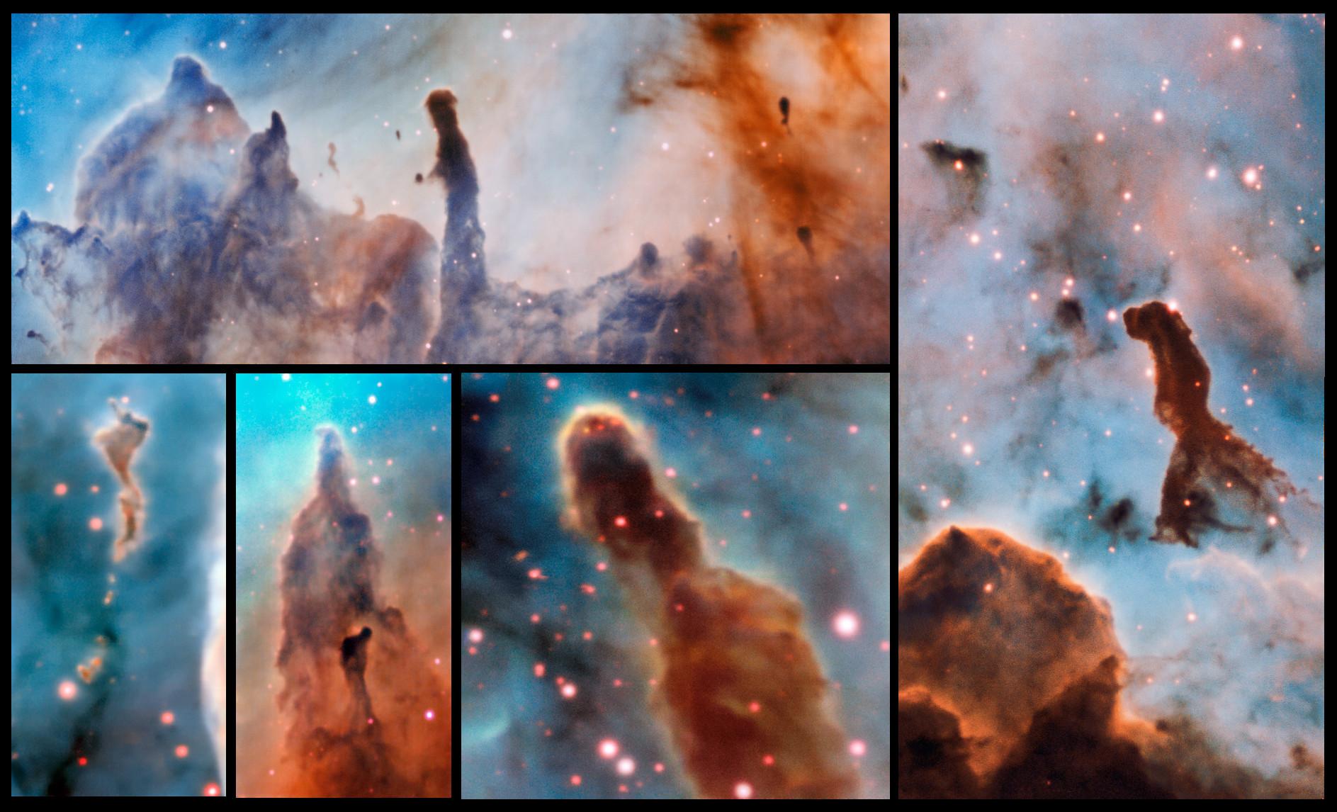 Carina Nebula: Amazing Photos of a Colorful Cosmic Cloud