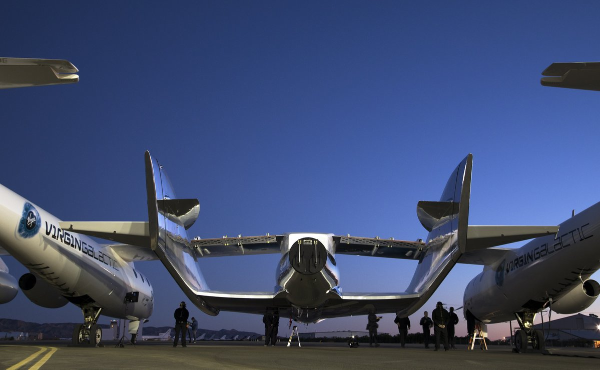 In Pictures: Virgin Galactic's 1st Glide Flight of VSS Unity Spaceship