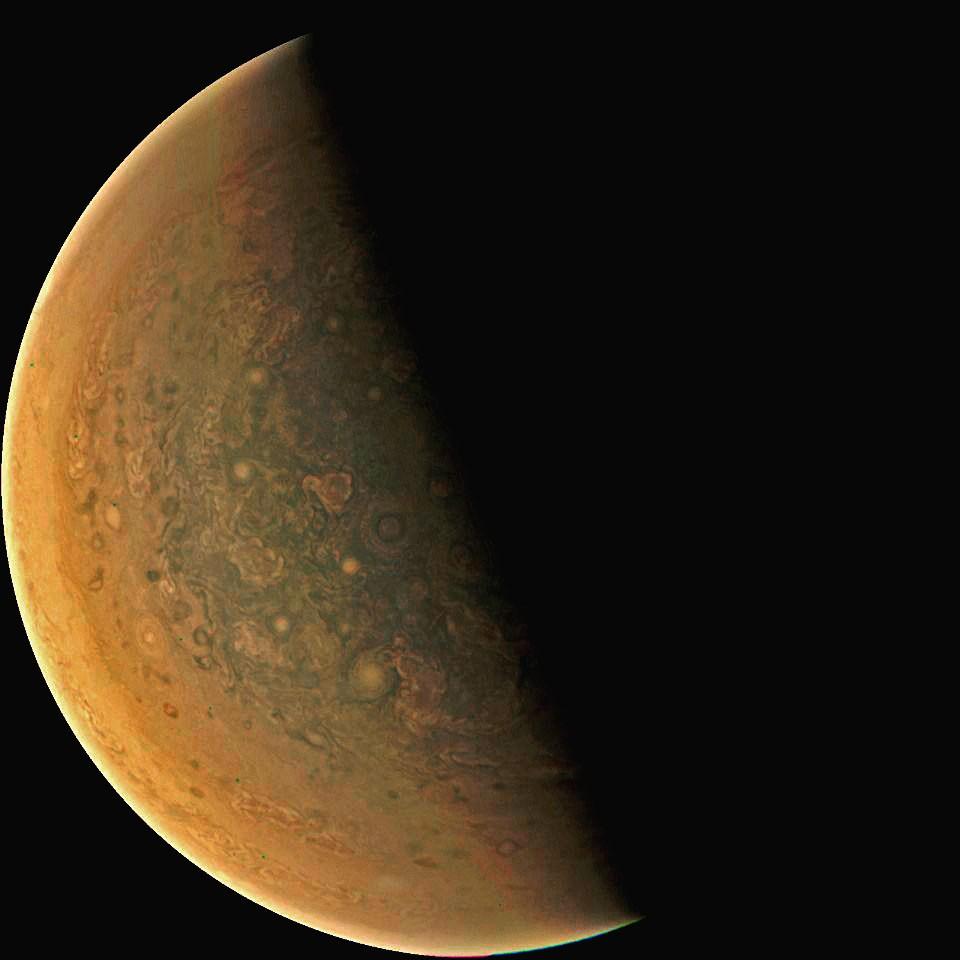 Jupiter in Orange