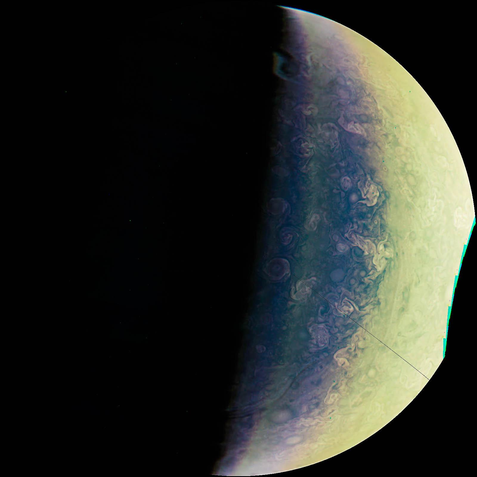 Jupiter's Pastels