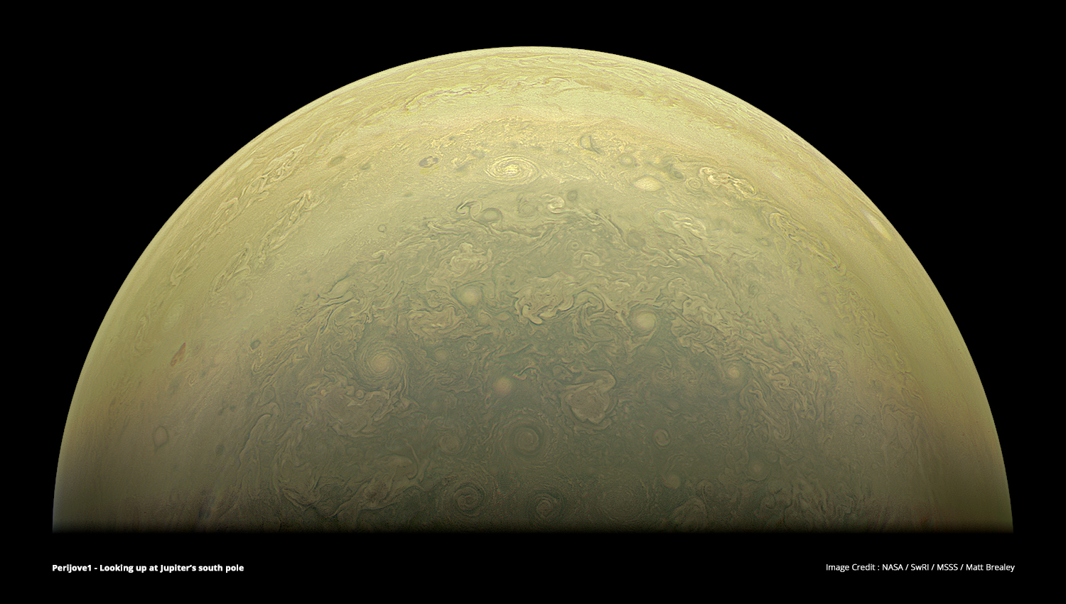Citizen Scientists Jump Aboard NASA's Jupiter Mission to Create Amazing Images
