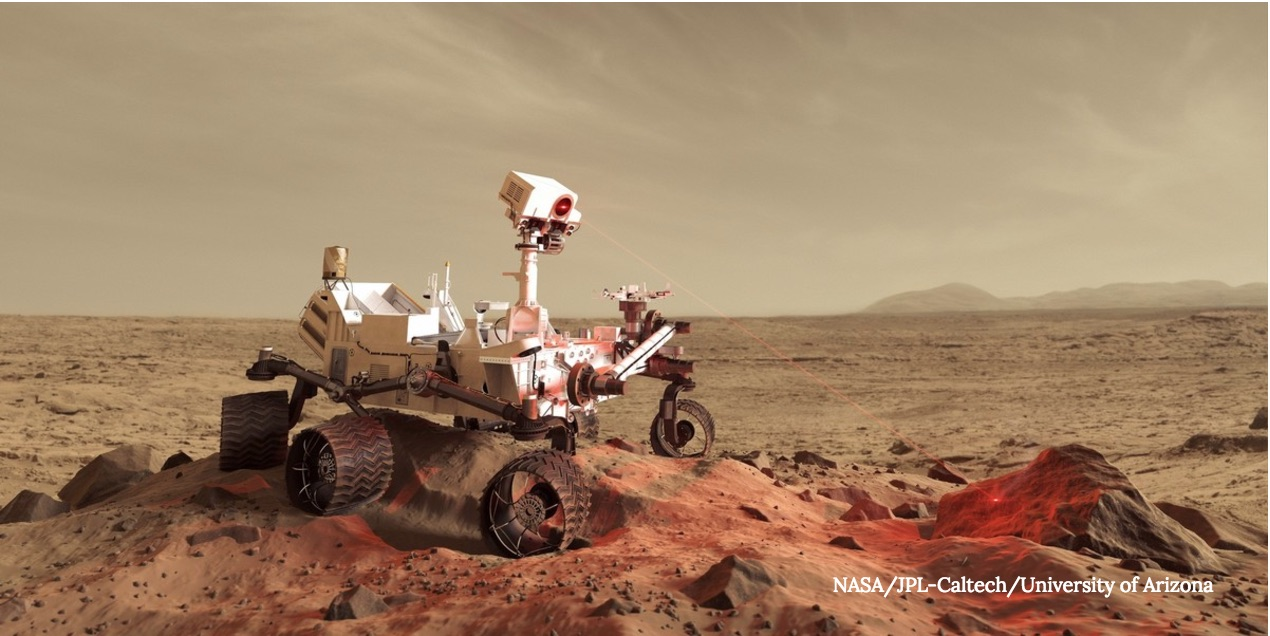 Space Laser to Help Robots 'Sniff Out' Alien Life
