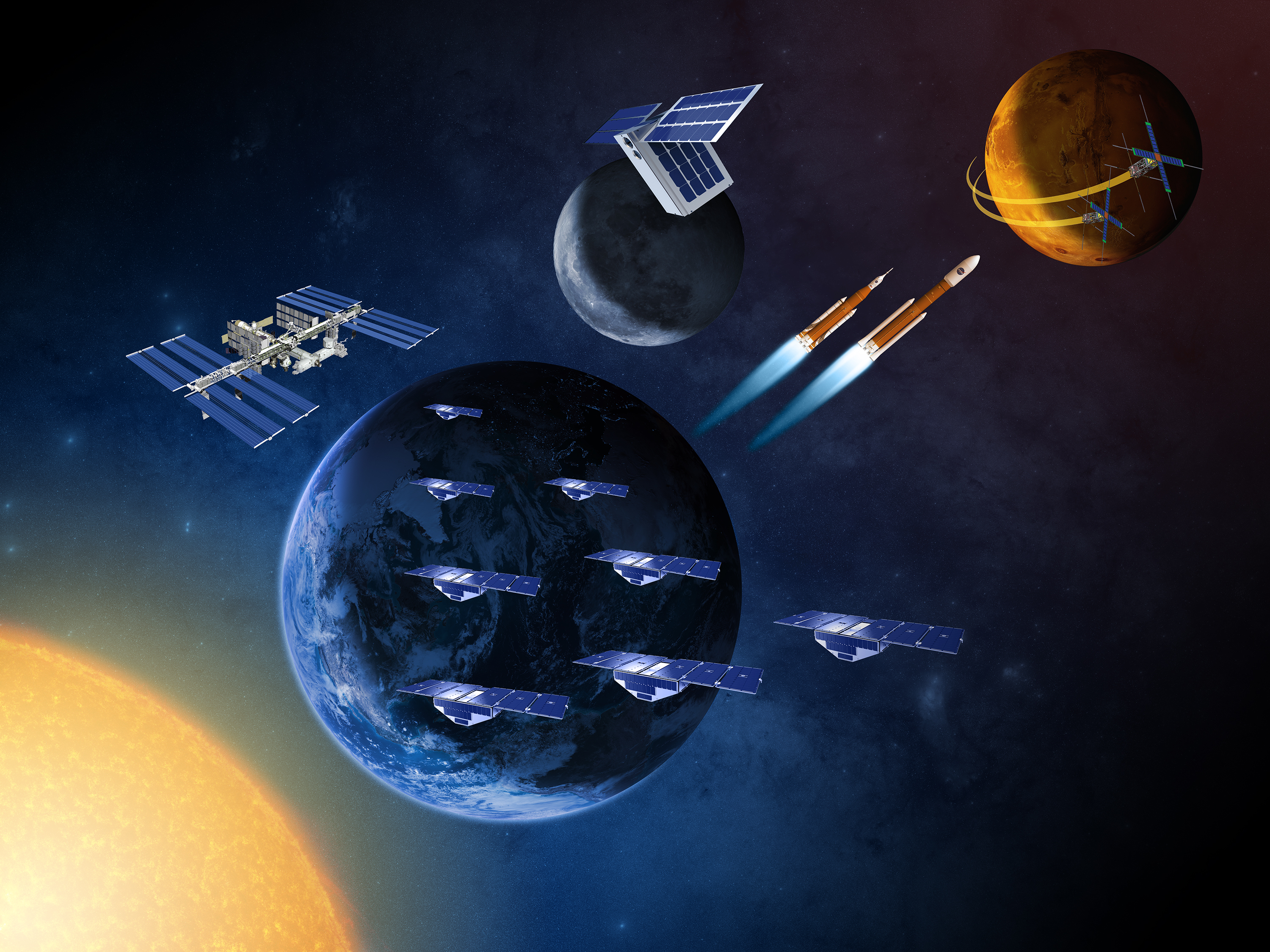 NASA to Launch 'Swarms' of Small, Earth-Observing Satellites