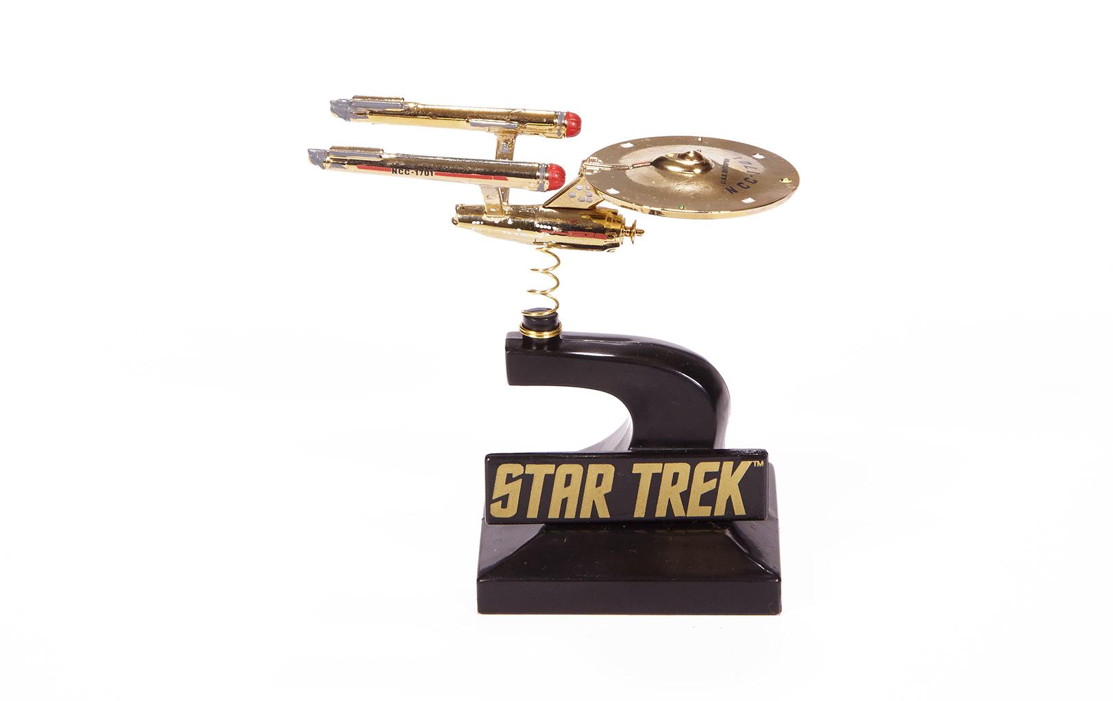 Enterprise Monitor Mate Bobble Ship (24K Gold-Plated)