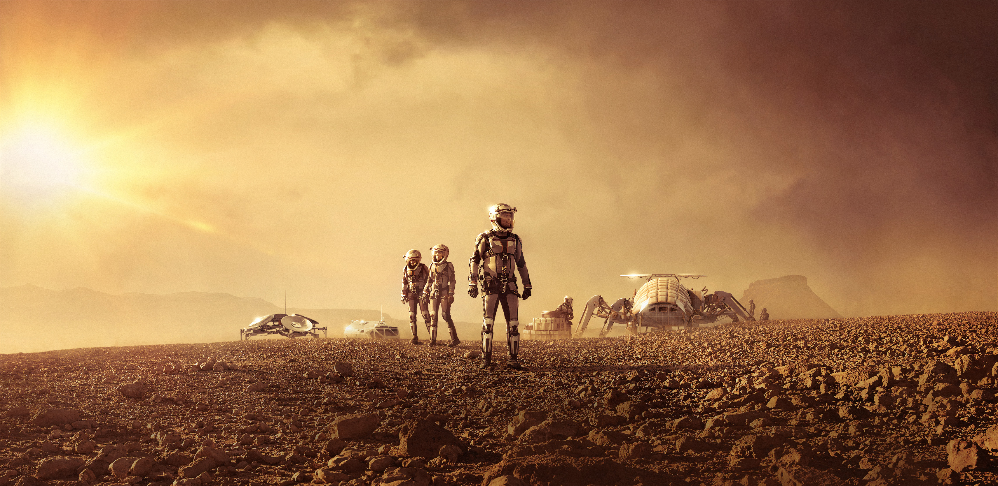 'Mars': The Epic National Geographic Channel Miniseries in Pictures
