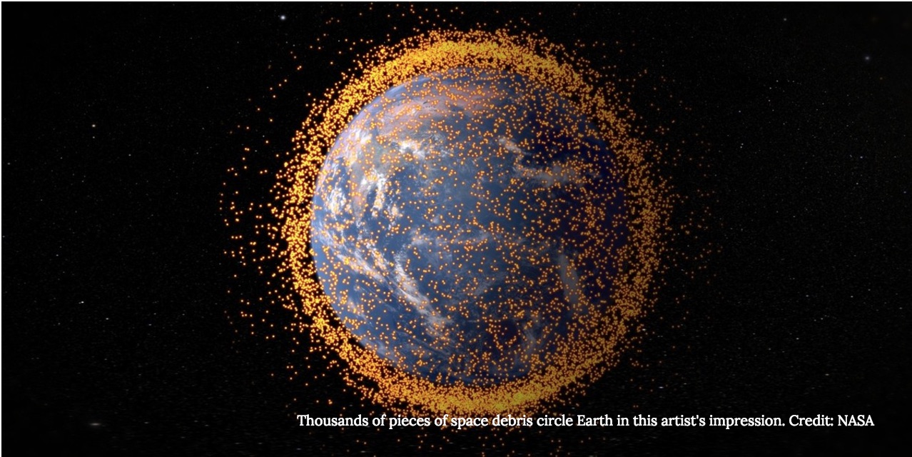 Recycling Space Junk for Missions to Mars