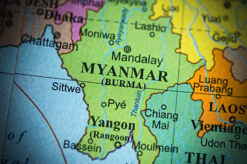 Mysterious Unidentified Object Crashes in Myanmar