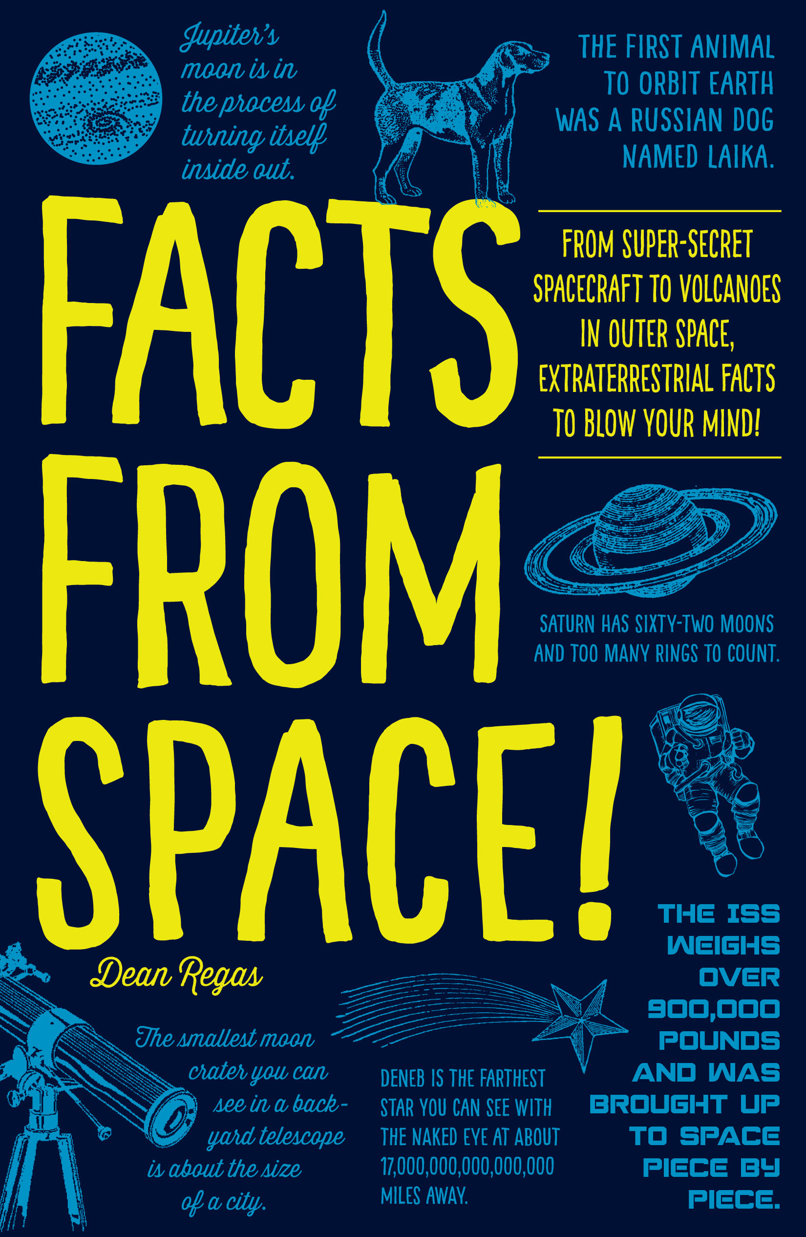 'Facts from Space!' Book Features Quirky Tidbits About the Universe
