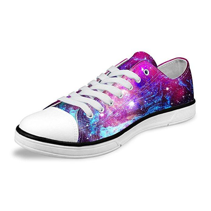 Galaxy-Print Sneakers
