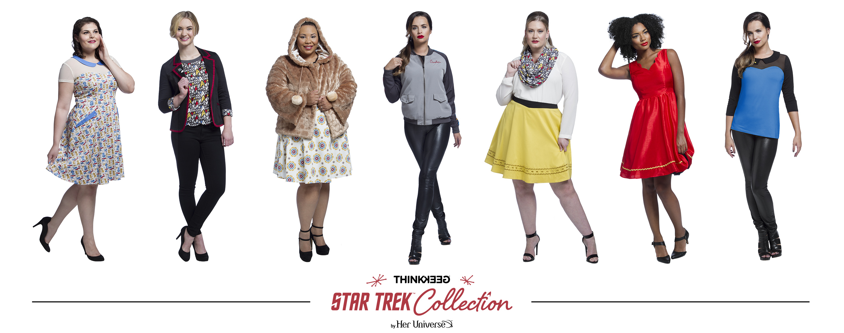 Final Frontier Fashion New 39 Star Trek 39 Line Energizes Thinkgeek