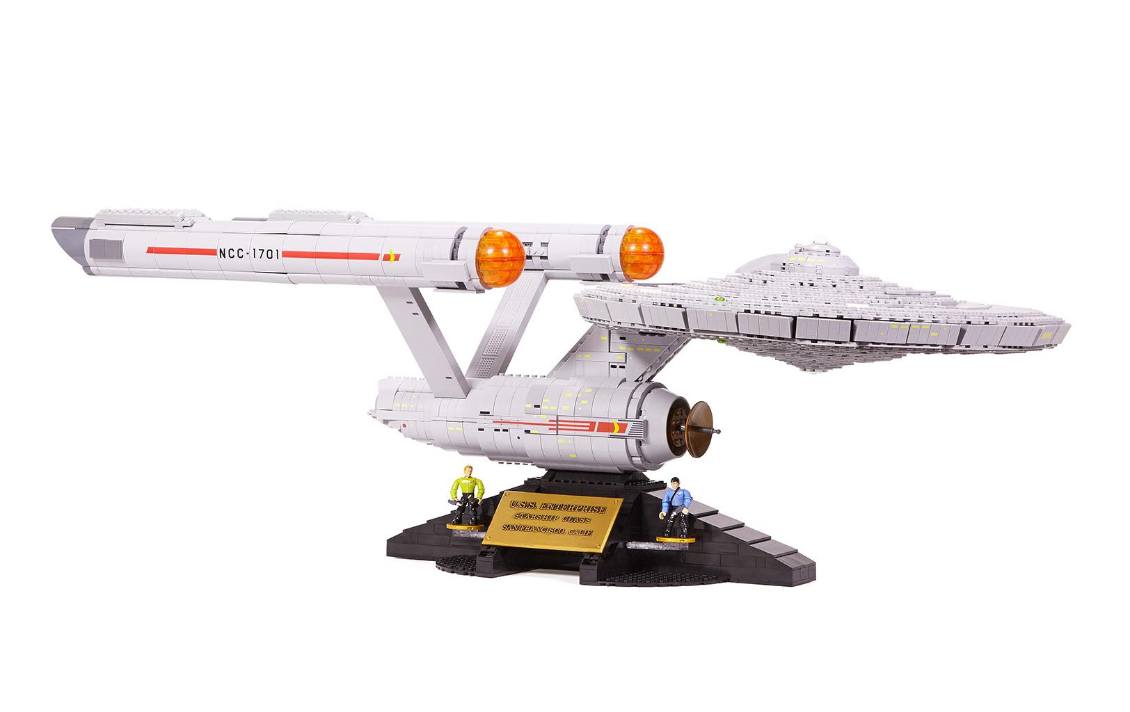 U.S.S. Enterprise NCC-1701 by Mega Bloks