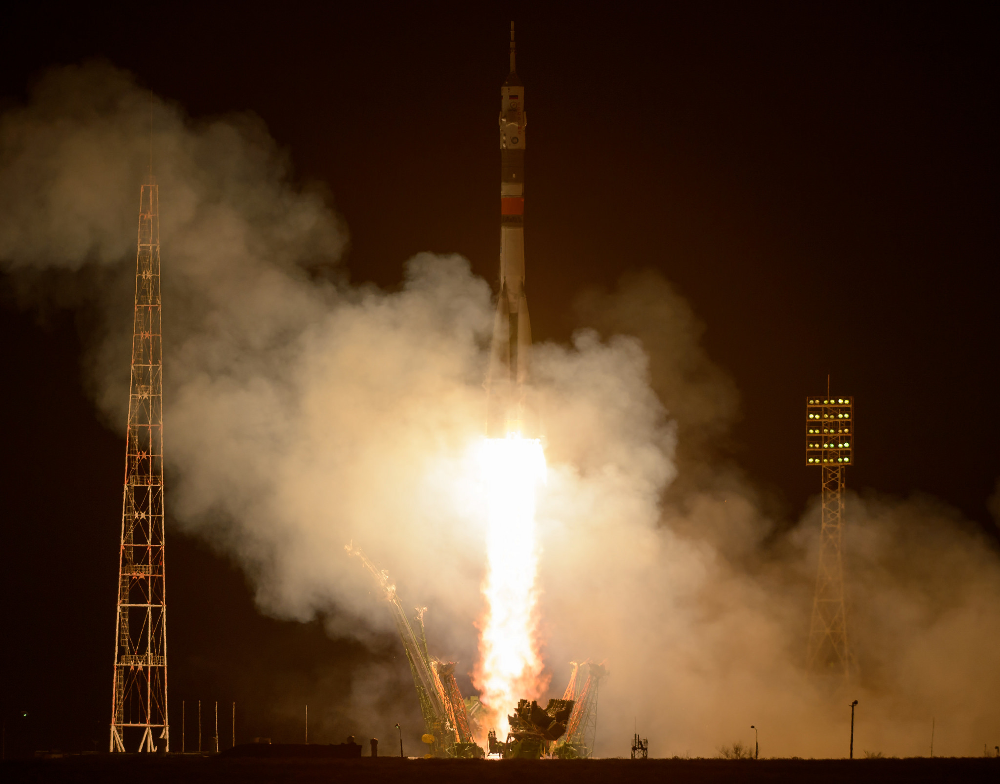 Four crews launching to the ISS