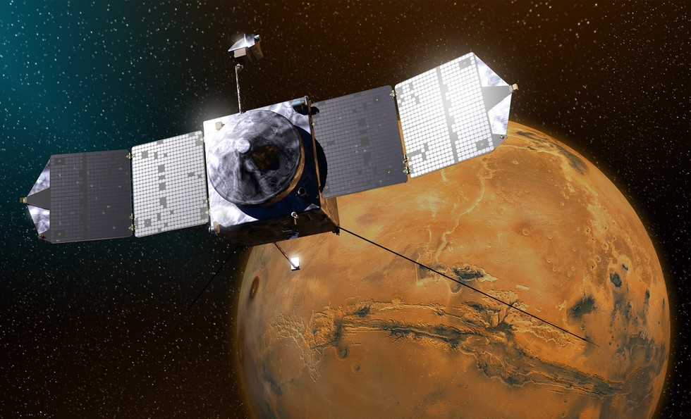 Happy Anniversary, MAVEN! NASA Mars Probe Marks 2 Years of Science Work