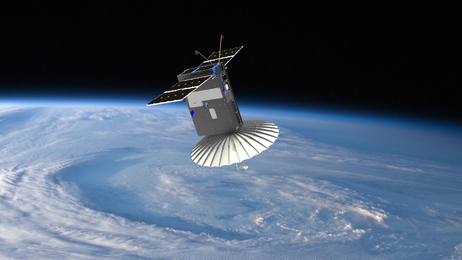 Tiny 'Black Magic' Satellite Packs Origami-Like Radar Dish