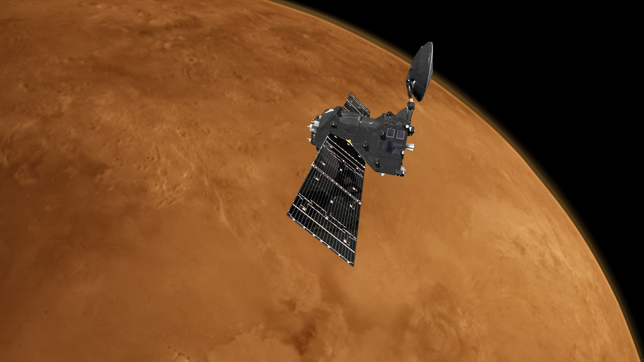 Mars lander slammed into red planet after data glitch