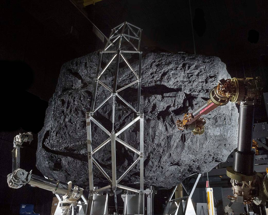 Check Out NASA's Asteroid-Catching Robot Arms (Photo)