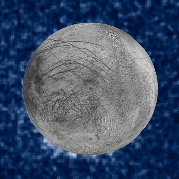 Hubble's ultraviolet capabilities are not replicated in any telescope now, or in the near future. Here, possible water plumes on Europa (disclosed earlier this year) are imaged using Hubble's ultraviolet filters.