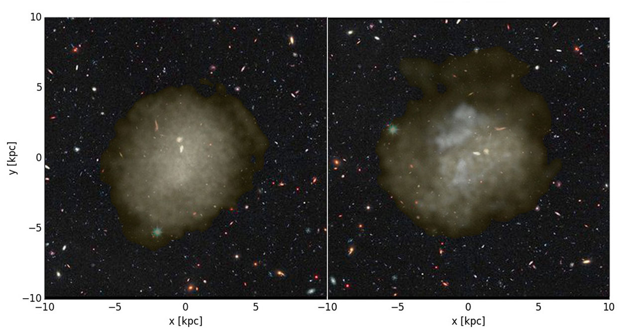 Ultra-Diffuse Ghost Galaxies Float Among Us