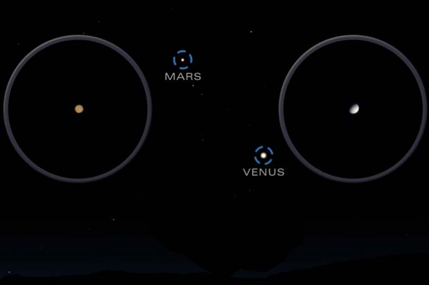 Venus and Mars After Sunset, Geminids 'Rain' And More In Dec. 2016 Skywatching | Video