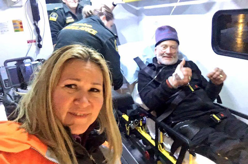 Astronaut Buzz Aldrin in 'Good Spirits' After Evacuation From South Pole