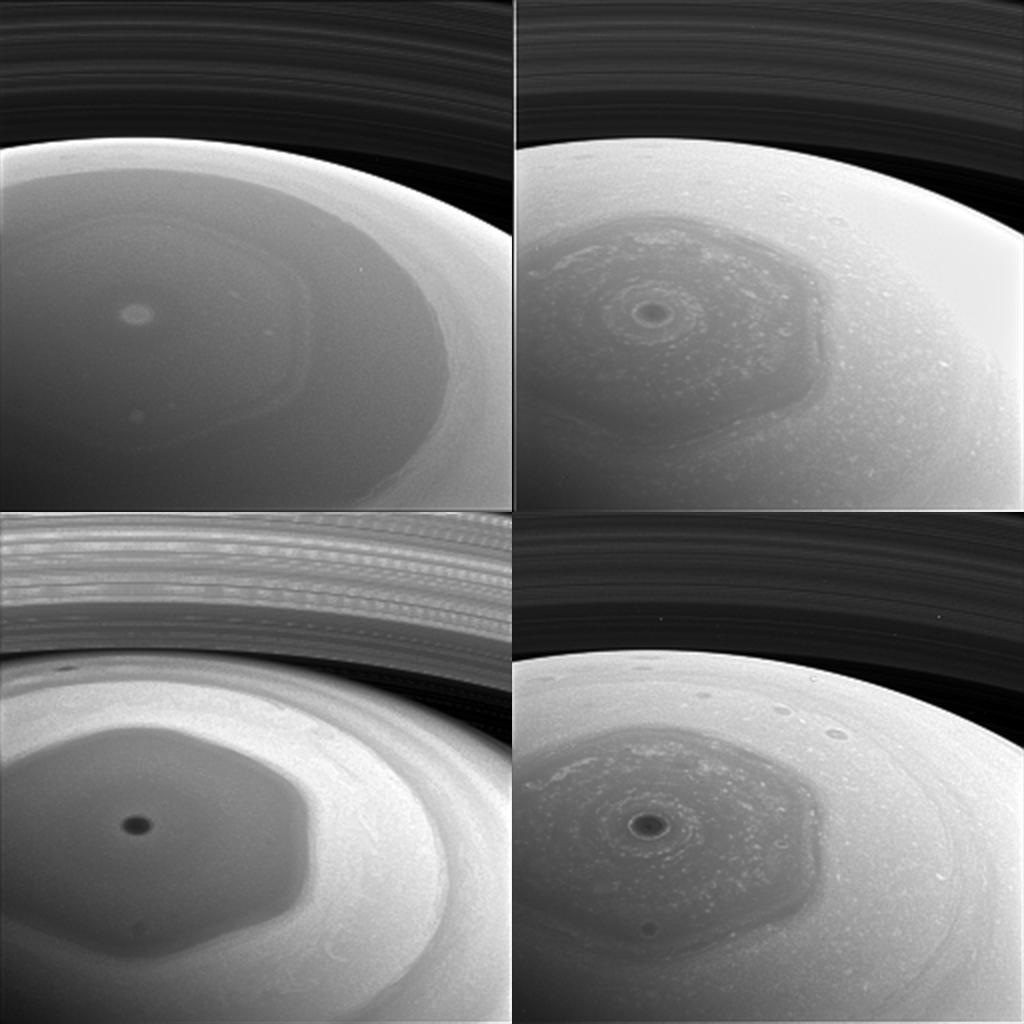 You've Never Seen Saturn's Weird Hexagon Storm Like This (Video)
