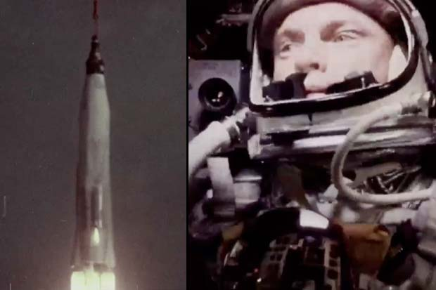 Watch John Glenn's Historic Friendship 7 Launch | Video