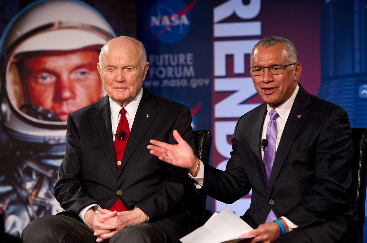 'John Glenn the Humanitarian' Remembered by NASA Chief (Video)