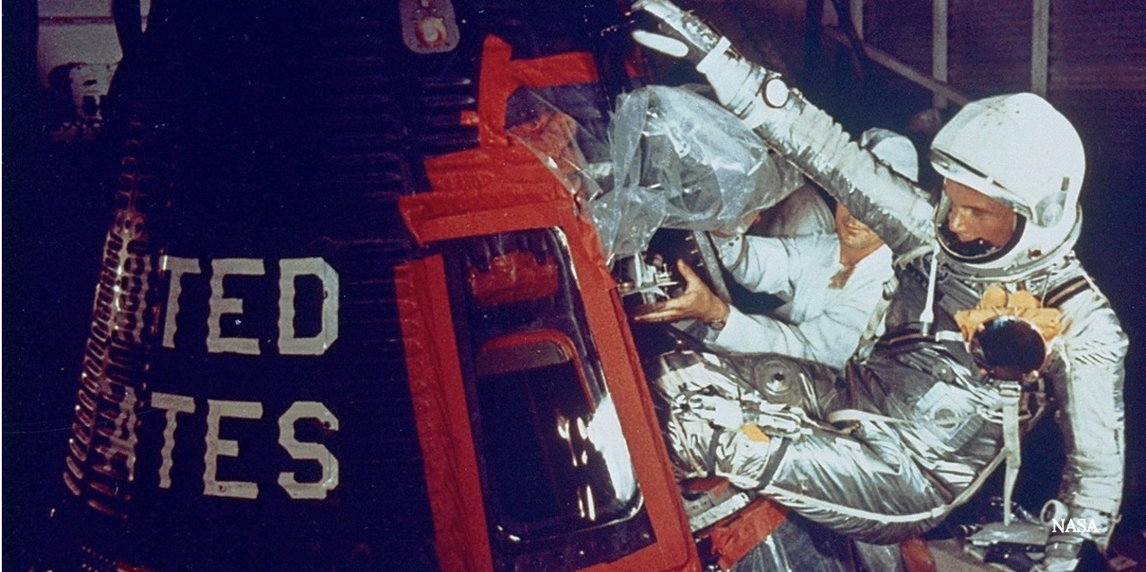 How John Glenn Drew the First Orbital Flight
