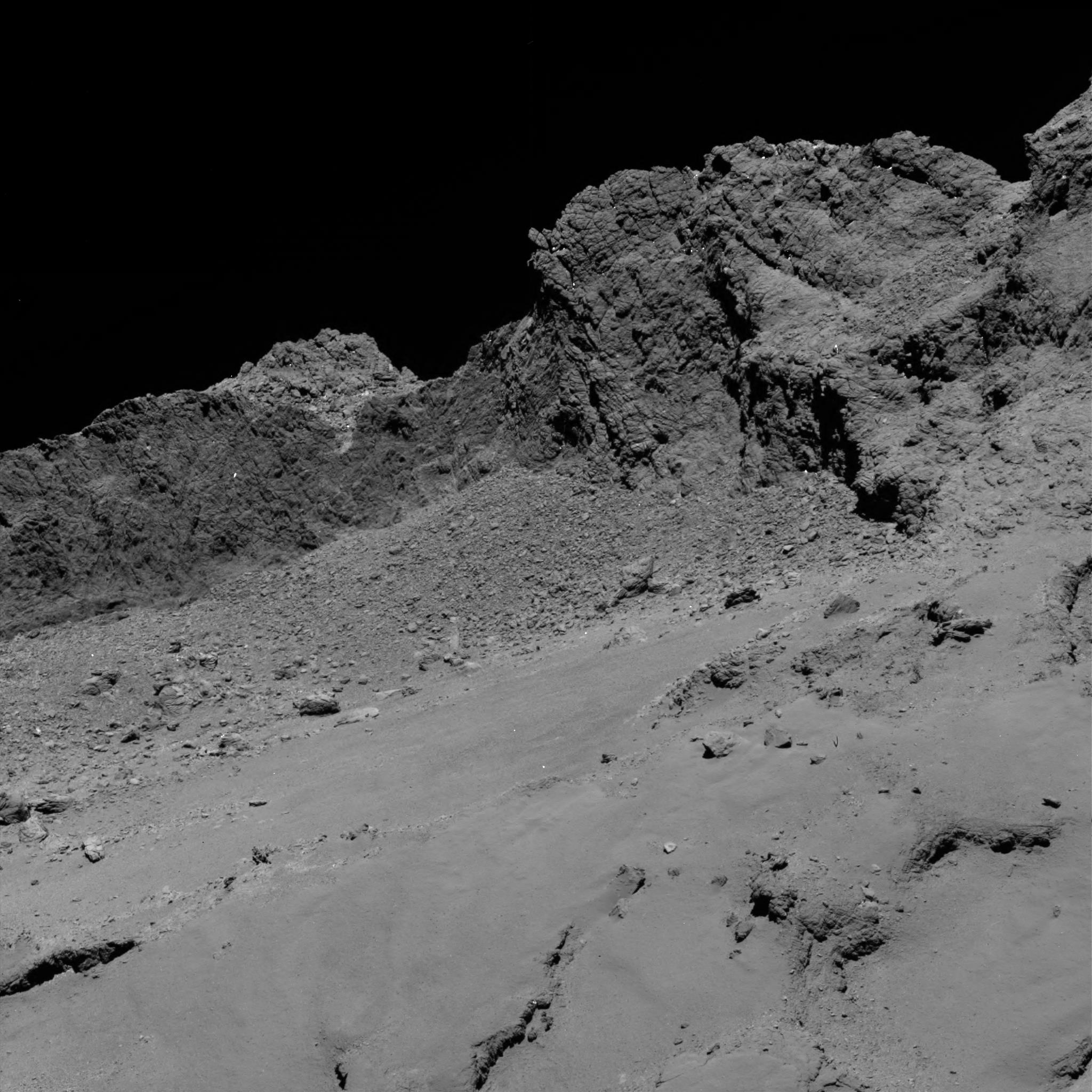 Rosetta's Dramatic Comet Death Dive Was Most-Watched Livestream Event of 2016