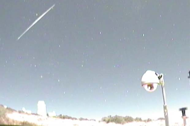Geminid Meteors Snapped By Slooh Observatory | Video