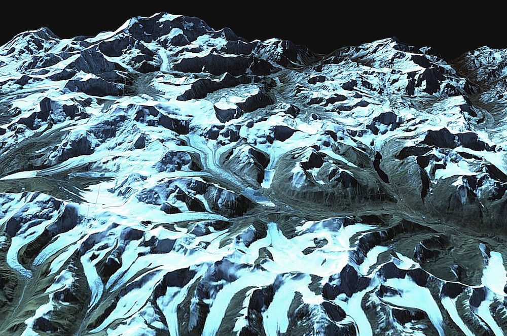Cold War-Era Satellites Spy on Himalayan Glaciers