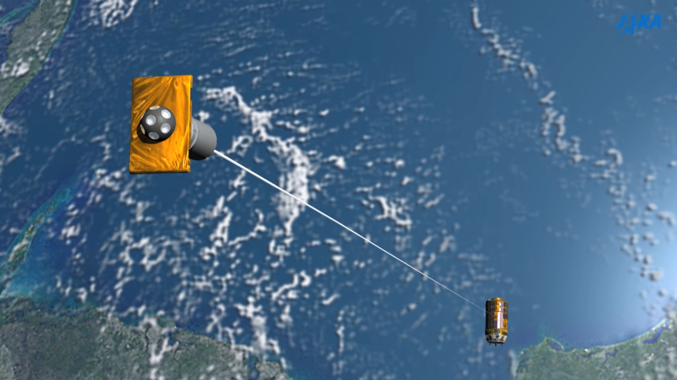 Space Junk Solution? Japan Would Use a Tether to Nab Debris & Destroy It