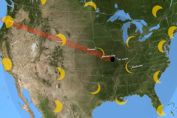 2017 Total Solar Eclipse Visible In United States - Find Out Where | Video