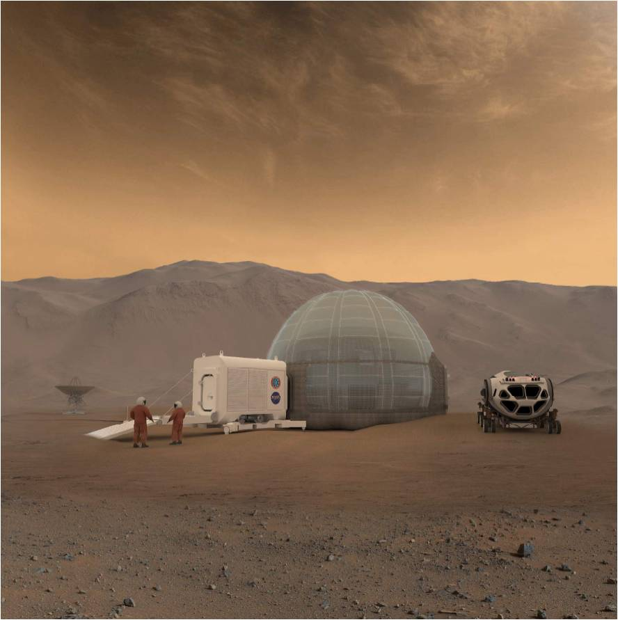 'Mars Ice Home': Team Chips Away at Off-Earth House's Design