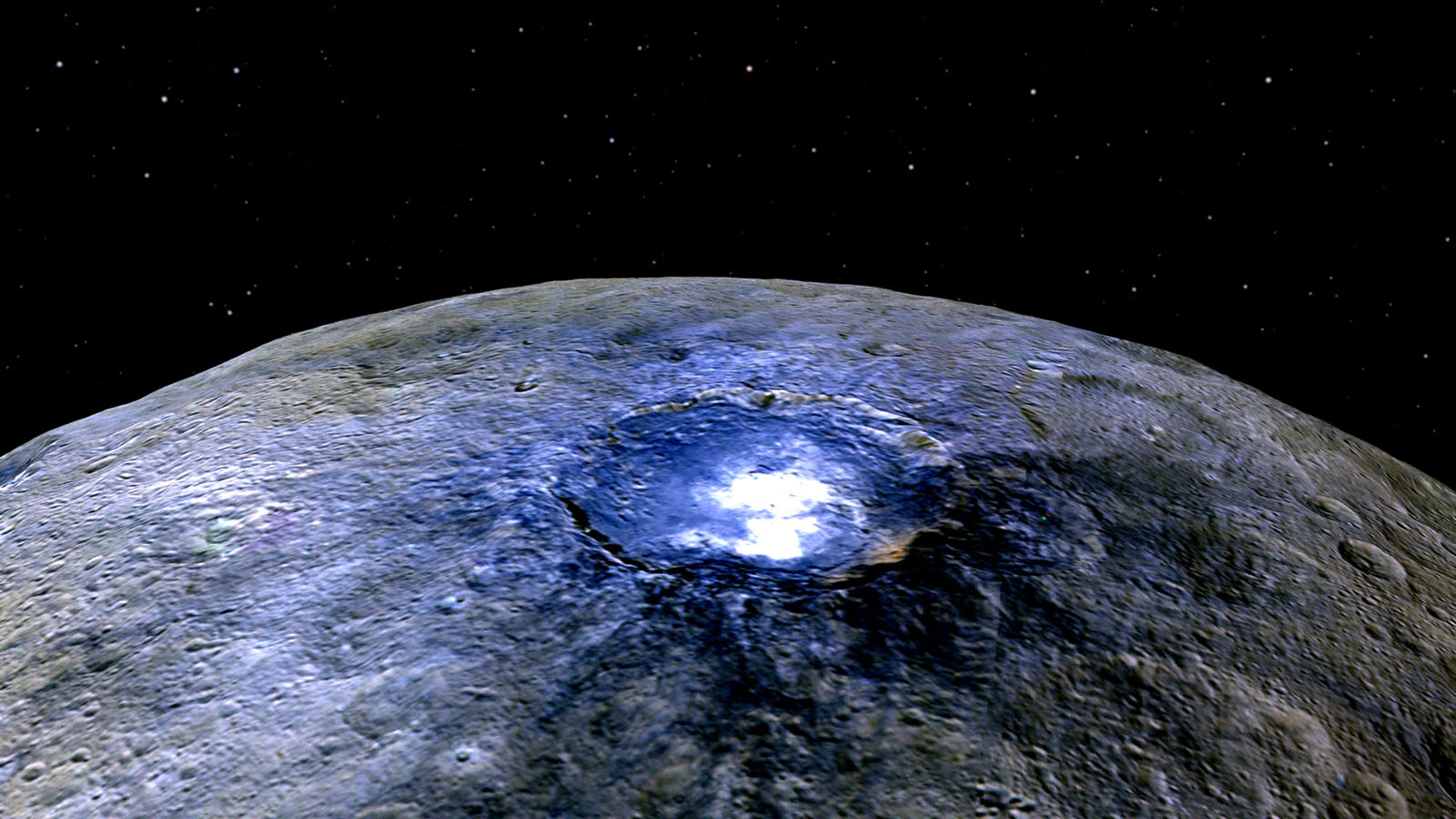 Dwarf Planet Ceres Likely Had Ocean Long Ago