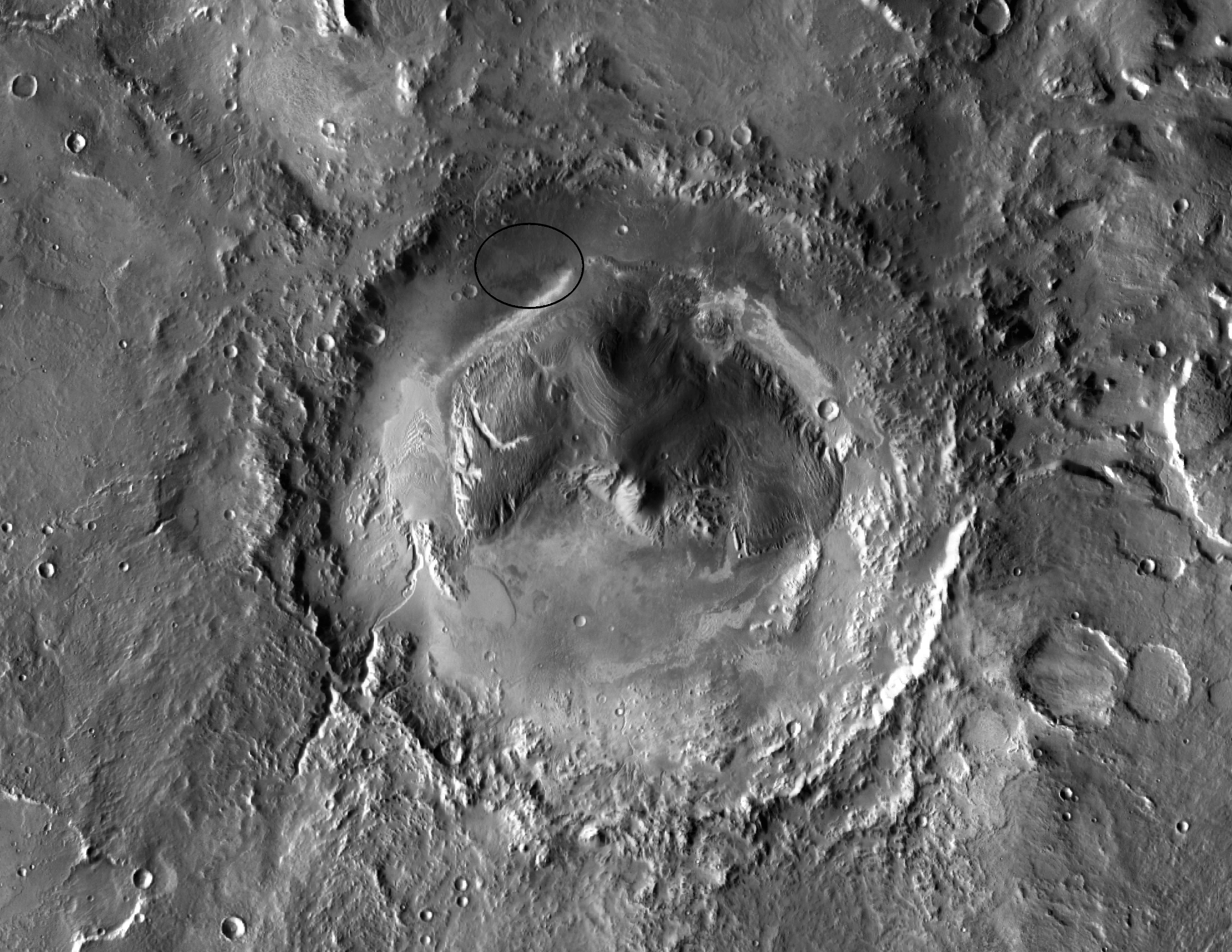 A Promising Spot for Life on Mars