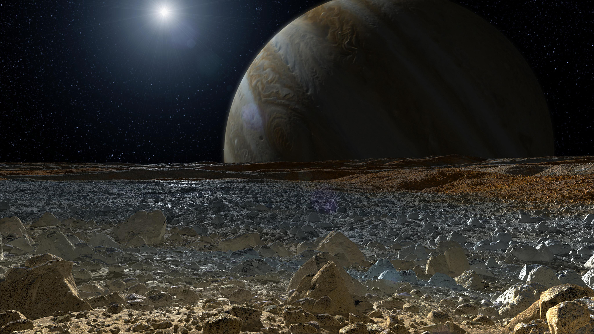 NASA's Europa Lander May Drill to Find Pristine Samples on Icy Moon