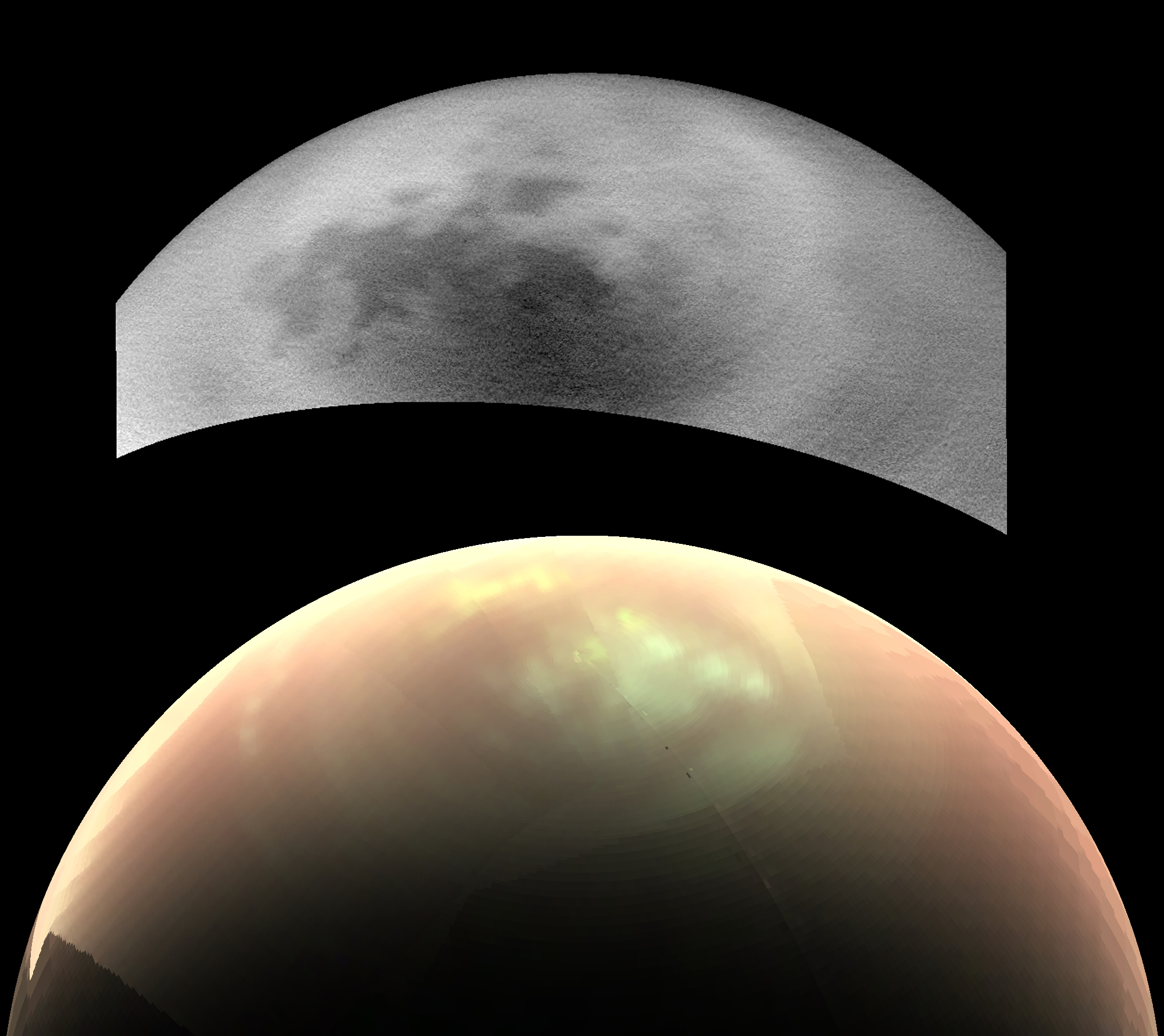 Weird Clouds Linger on Saturn's Moon Titan