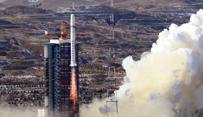 China's New Earth-Observation Satellites in Unexpected Orbits: Report