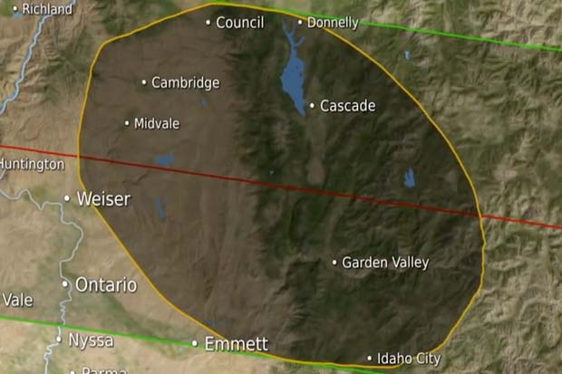 2017 Solar Eclipse Path: Moon Features Adjustment In New Animation