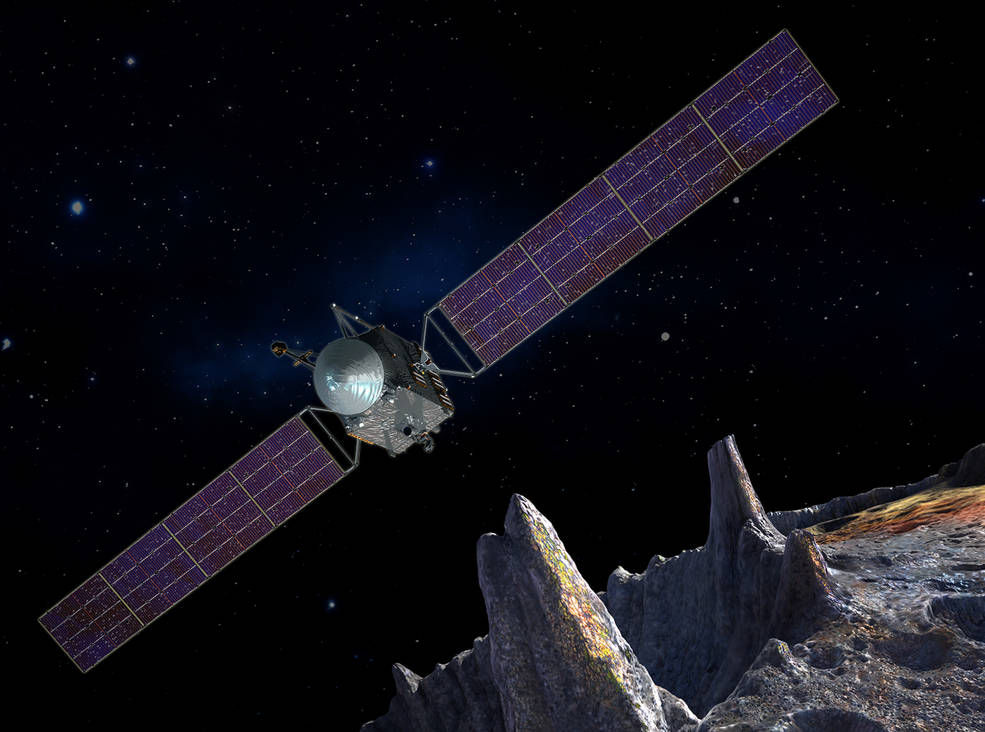 NASA's Psyche Spacecraft Will Explore Metal Asteroid Psyche