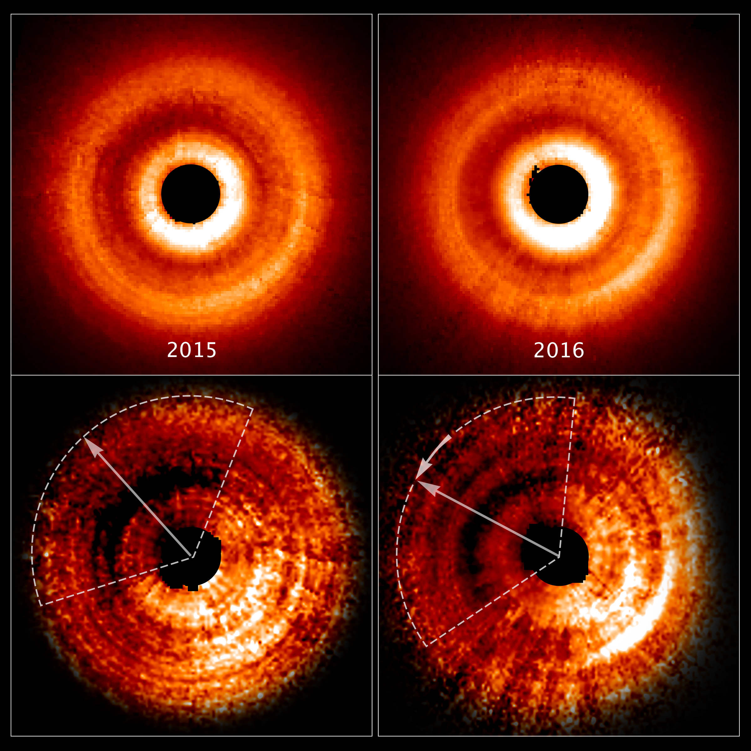 Odd Shadow Around Young Star May Be Sign of Newborn Planet