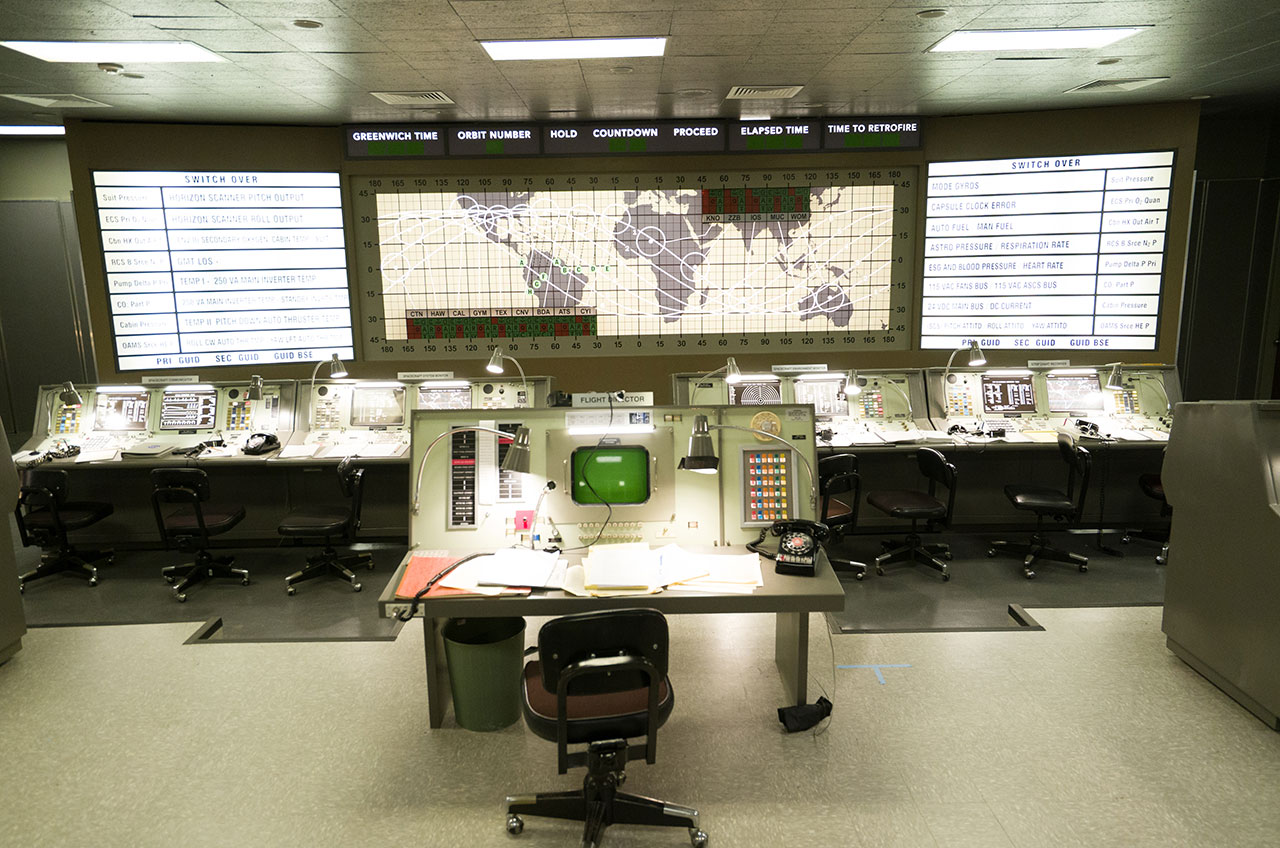 NASA's Historic First Mission Control Center Recreated for 'Hidden Figures'