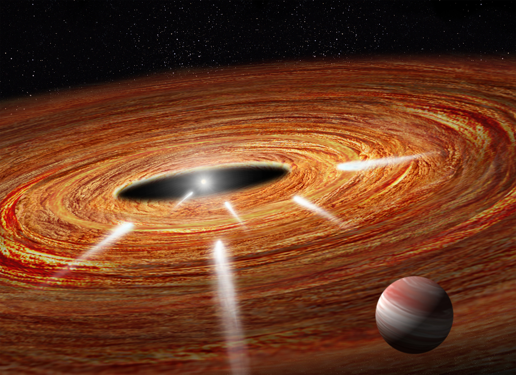 Hubble Spies Exocomets Diving into Young Star