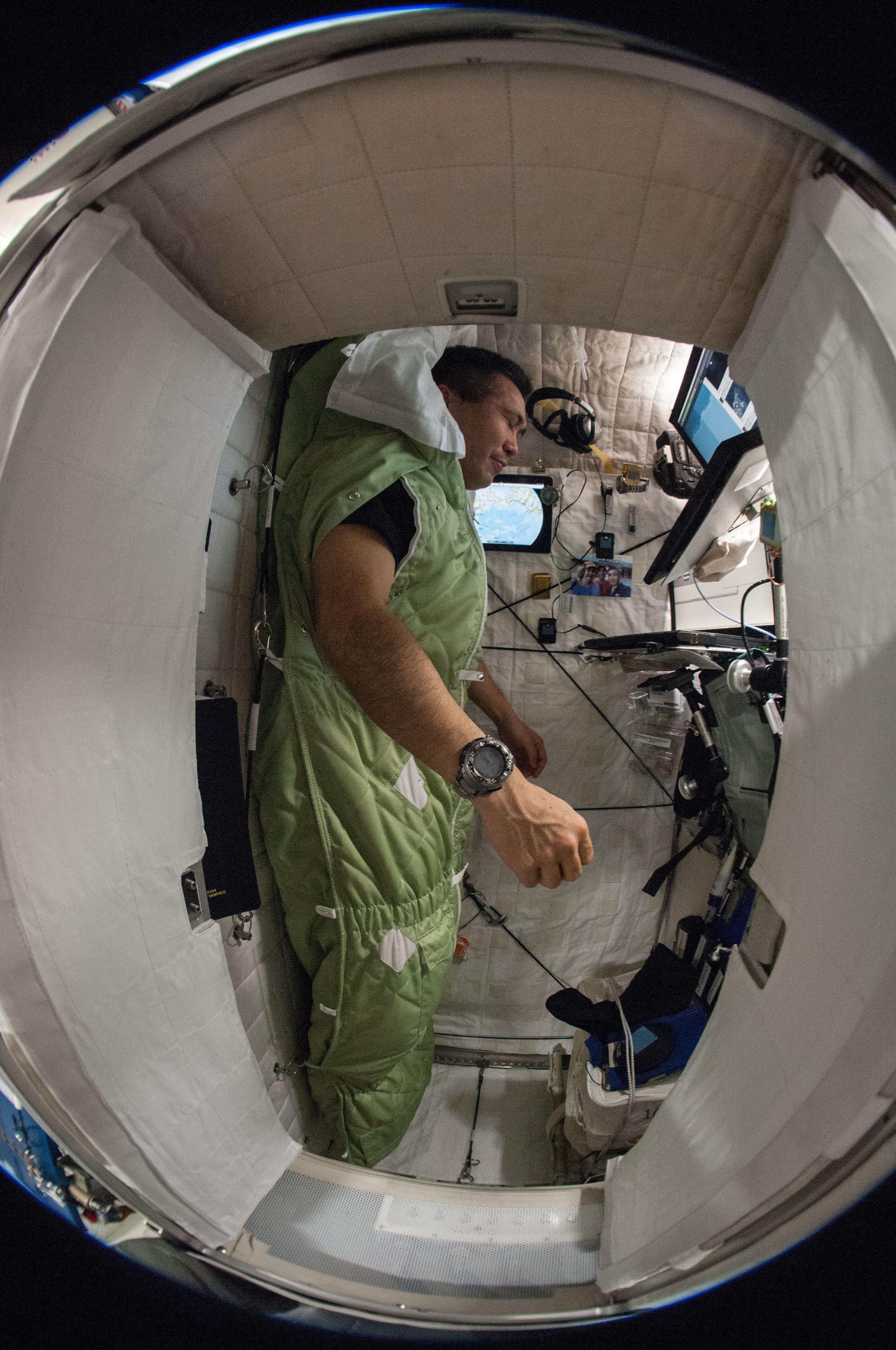 Get a good night's sleep, astronaut-style