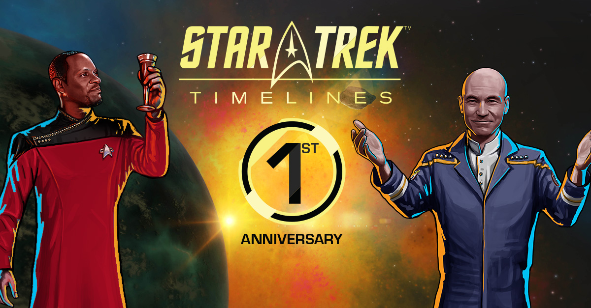 'Star Trek Timelines' Marks Game's 1st Anniversary with Special Event